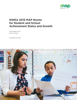 2015 MAP Norms for Student and School Achievement Status and Growth