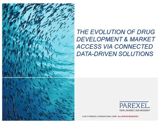 The evolution of drug development & market Access via connected data-driven solutions