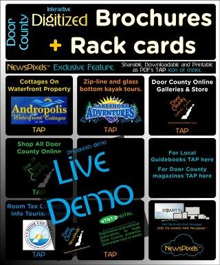 LiveDemoDigitalBrochuresRackCardsMagazines
