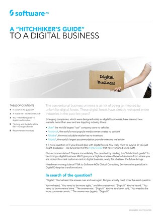 Hitchhiker's guide to digital business