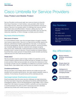 Umbrella for Service Providers