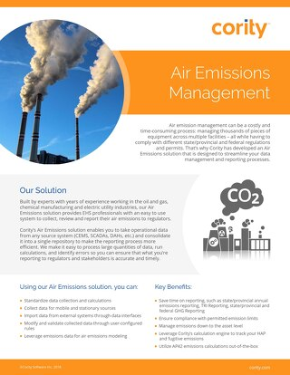 One Pager - Air Emission Management