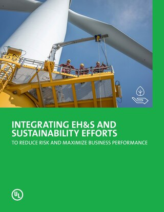 Integrating EHS and sustainability efforts