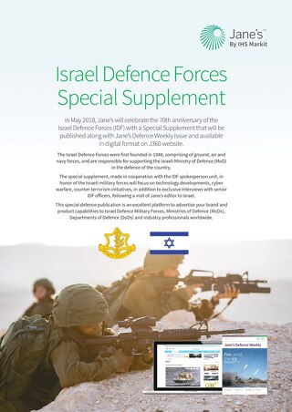 Israel Defence Forces Flyer