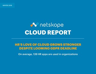 February 2018 - Netskope Cloud Report