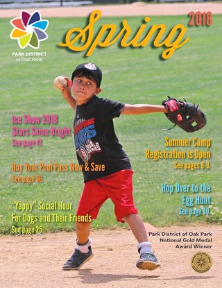 Park District of Oak Park Spring 2018 Program Guide