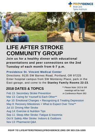 Life After Stroke: Support & Education