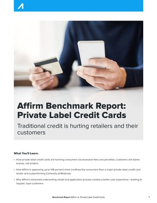 Private Label Credit Cards