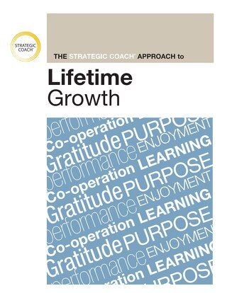 Strategic Coach Approach To Lifetime Growth