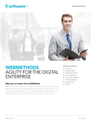 webMethods: Agility for the digital enterprise