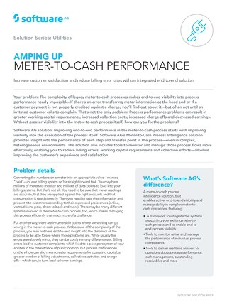 AMPING UP METER-TO-CASH PERFORMANCE