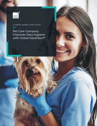 Pet Care Company Improves Data Hygiene With Global DataView
