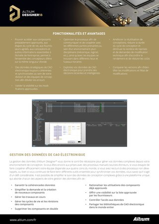 Data Management Datasheet