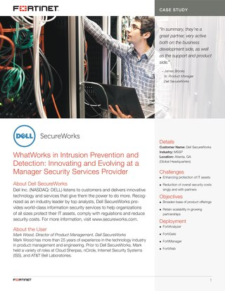Dell SecureWorks Talks about What Works in Intrusion Prevention and Detection