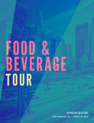 Endeavor F&B Tour