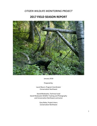 2017 Citizen Wildlife Monitoring Project Report_FINAL_WithAppendices