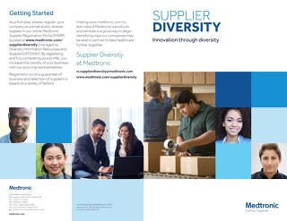 Supplier Diversity: Innovation Through Diversity