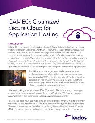 CAMEO case study