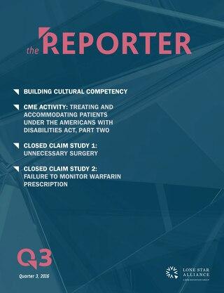 Lone Star Reporter Quarter 3 2016
