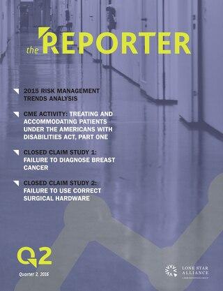 Lone Star Reporter Quarter 2 2016