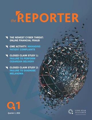 Lone Star Reporter Quarter 1 2016