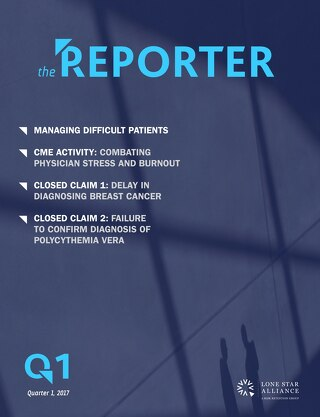 Lone Star Reporter Quarter 1 2017