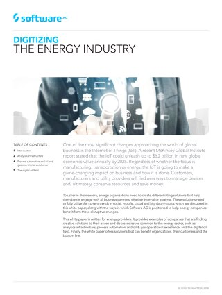 DIGITIZING THE ENERGY INDUSTRY