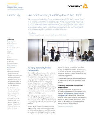 Case Study: Riverside University Public Health HCI