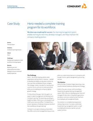 Training Program: Hertz