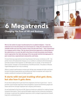 6 Megatrends Changing Business