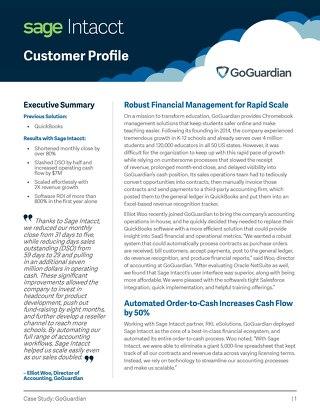 GoGuardian Customer Success Story