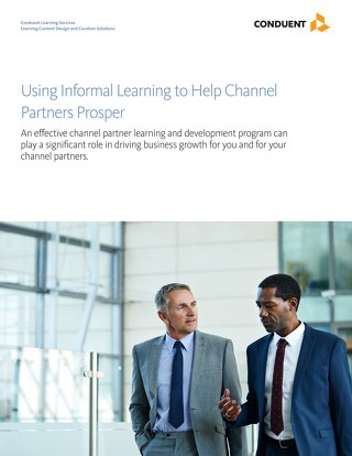 Using Informal Learning to Help Channel Partners Prosper