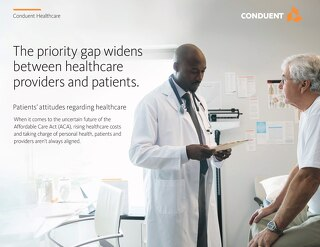 The Priority Gap Widens - Patients' Attitudes Regarding Healthcare