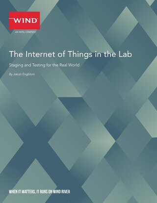 The Internet of Things in the Lab