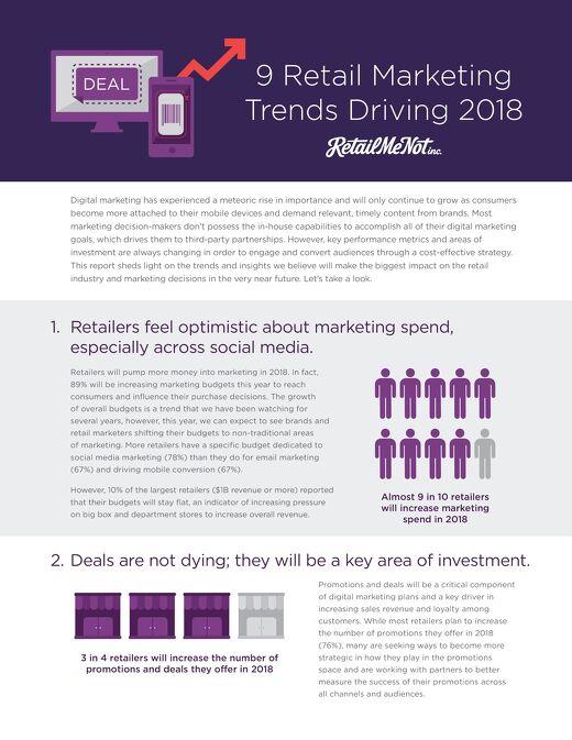 2018 Retailer Trends