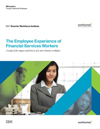 The Employee Experience of Financial Services Workers