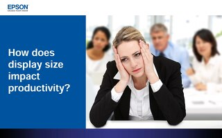 How Does Display Size Impact Productivity?