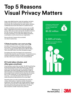 Visual Privacy - Top 5 Reasons