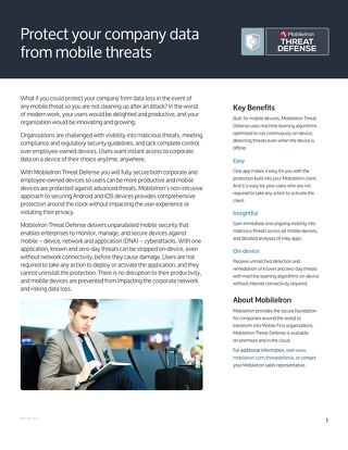 MobileIron Customer Solution Overview