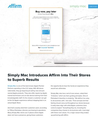 Simply Mac Case Study
