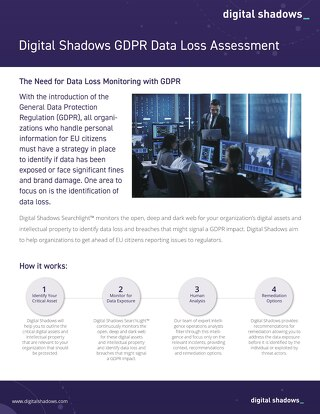 GDPR Data Loss Assessment
