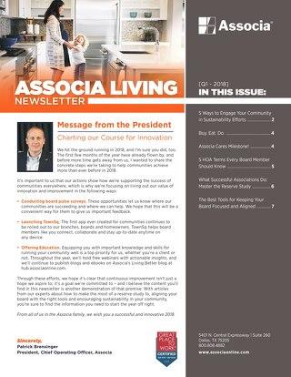 Associa 2018 Q1 Newsletter