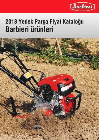 2018 Yedek Parca Katalogu - Barbieri Urunleri