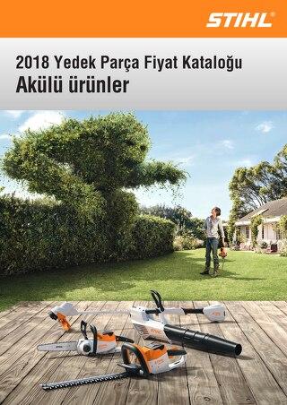 2018 Yedek Parca Katalogu - STIHL Akulu Urunler