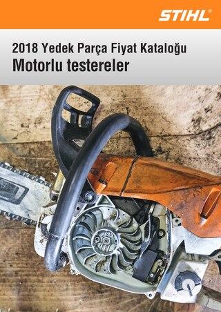 2018 Yedek Parca Katalogu - STIHL Motorlu Testereler