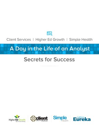 A Day in the Life of an Analyst – Secrets for Success