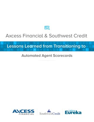 Lessons Learned from Transitioning to Automated Agent Scorecards