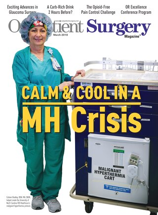 Calm & Cool in a MH Crisis - Subscribe to Outpatient Surgery Magazine - March 2018