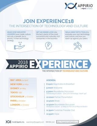 Experience Tour 2018