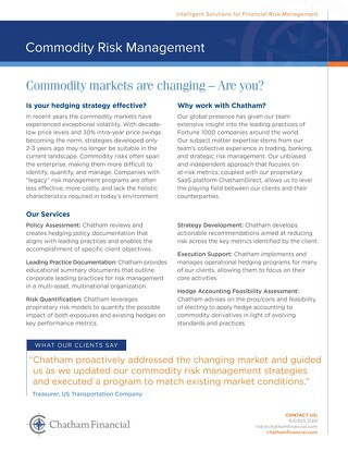 Chatham - Commodity-Risk-Management